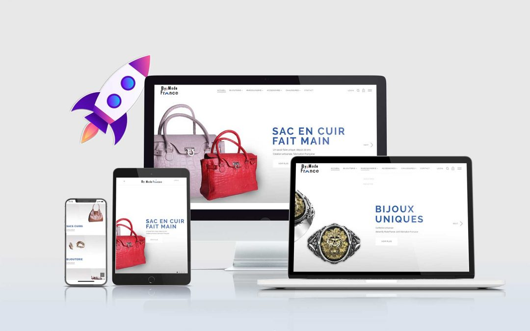 By Mode France – Création E-commerce TamVision