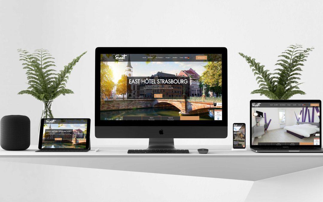East Hotel 67 Strasbourg – Création site internet TamVision