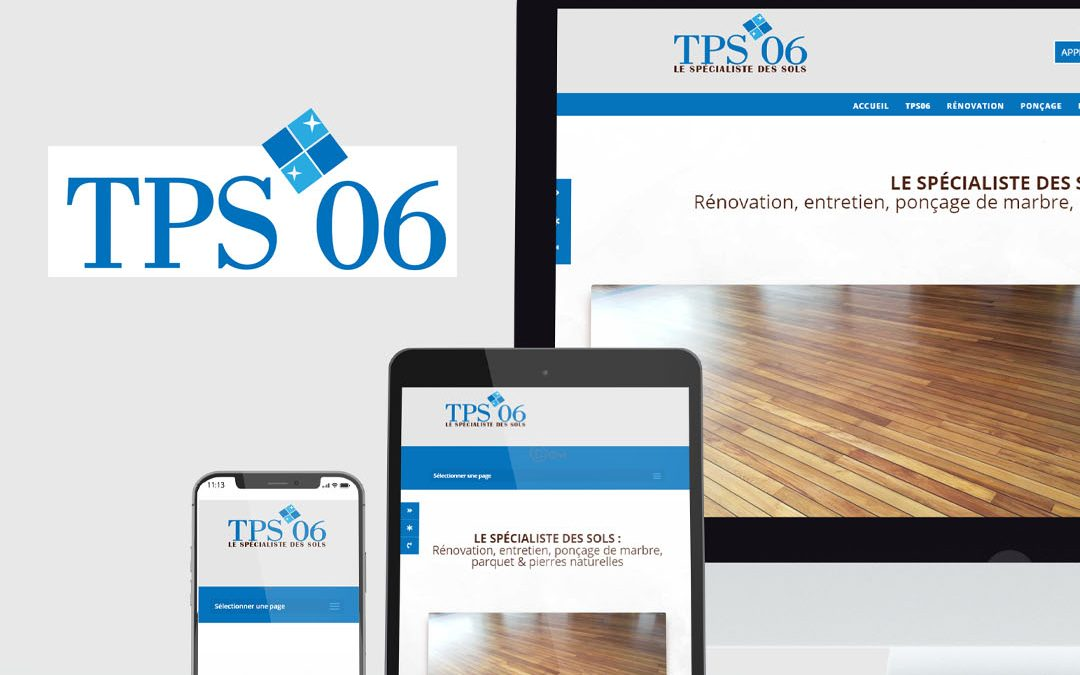 TPS 06 Ponçage marbre traitement sols – Création site internet TamVision Cannes Mandelieu